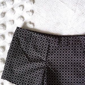Cynthia Rowley Black and White Pattern Shorts!